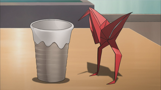 Want To Learn How Fold The Origami Crane Featured In Sket Dance Below I Will Illustrate 12 Easy Steps